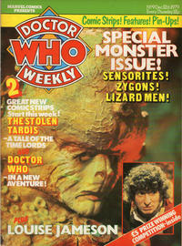 Cover Thumbnail for Doctor Who Weekly (Marvel UK, 1979 series) #9