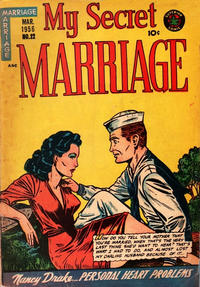 Cover Thumbnail for My Secret Marriage (Superior, 1953 series) #22