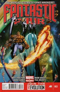 Cover Thumbnail for Fantastic Four (Marvel, 2013 series) #3