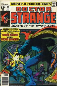 Cover Thumbnail for Doctor Strange (Marvel, 1974 series) #25 [British Price Variant]