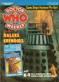 Cover Thumbnail for Doctor Who Weekly (Marvel UK, 1979 series) #12