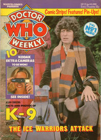 Cover Thumbnail for Doctor Who Weekly (Marvel UK, 1979 series) #13