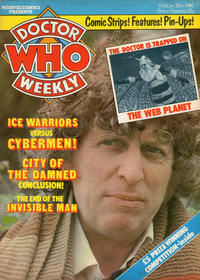 Cover Thumbnail for Doctor Who Weekly (Marvel UK, 1979 series) #16