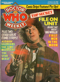 Cover Thumbnail for Doctor Who Weekly (Marvel UK, 1979 series) #22