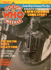Cover Thumbnail for Doctor Who Weekly (Marvel UK, 1979 series) #23