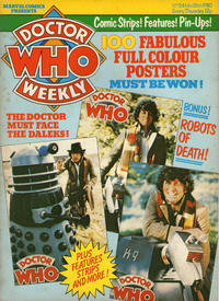 Cover Thumbnail for Doctor Who Weekly (Marvel UK, 1979 series) #24