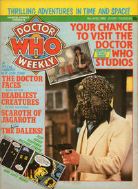 Cover Thumbnail for Doctor Who Weekly (Marvel UK, 1979 series) #27