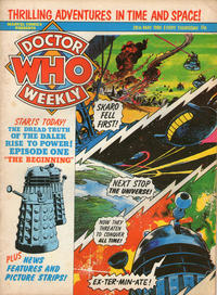 Cover Thumbnail for Doctor Who Weekly (Marvel UK, 1979 series) #33