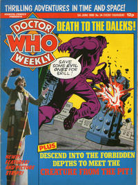 Cover Thumbnail for Doctor Who Weekly (Marvel UK, 1979 series) #34
