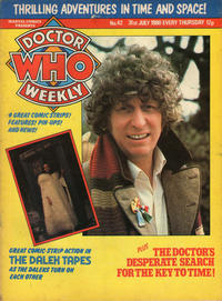 Cover Thumbnail for Doctor Who Weekly (Marvel UK, 1979 series) #42