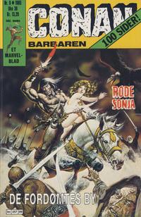 Cover Thumbnail for Conan (Semic, 1984 series) #9/1985