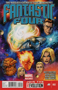 Cover Thumbnail for Fantastic Four (Marvel, 2013 series) #2