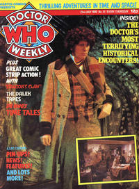 Cover Thumbnail for Doctor Who Weekly (Marvel UK, 1979 series) #41
