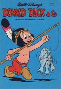 Cover Thumbnail for Donald Duck & Co (Hjemmet / Egmont, 1948 series) #40/1971