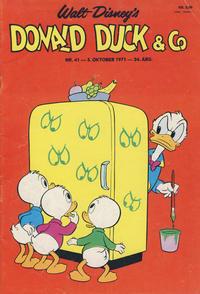 Cover Thumbnail for Donald Duck & Co (Hjemmet / Egmont, 1948 series) #41/1971
