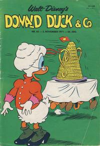 Cover Thumbnail for Donald Duck & Co (Hjemmet / Egmont, 1948 series) #45/1971