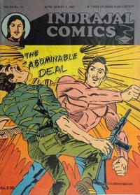 Cover Thumbnail for Indrajal Comics (Bennet, Coleman & Co., 1964 series) #v24#17 [669]