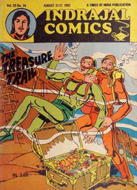 Cover Thumbnail for Indrajal Comics (Bennet, Coleman & Co., 1964 series) #v20#34 [477]
