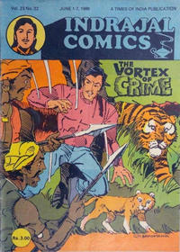 Cover Thumbnail for Indrajal Comics (Bennet, Coleman & Co., 1964 series) #v23#22 [622]