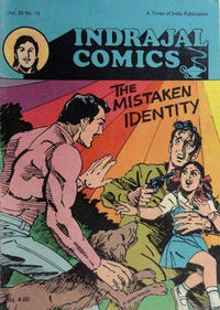Cover Thumbnail for Indrajal Comics (Bennet, Coleman & Co., 1964 series) #v26#12 [768]