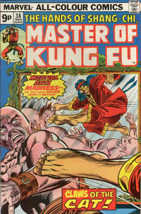 Cover Thumbnail for Master of Kung Fu (Marvel, 1974 series) #38 [British Edition]