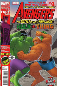 Cover Thumbnail for Marvel Universe Avengers Earth's Mightiest Heroes (Marvel, 2012 series) #4