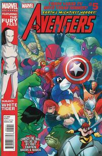 Cover Thumbnail for Marvel Universe Avengers Earth's Mightiest Heroes (Marvel, 2012 series) #5