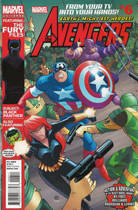 Cover Thumbnail for Marvel Universe Avengers Earth's Mightiest Heroes (Marvel, 2012 series) #6