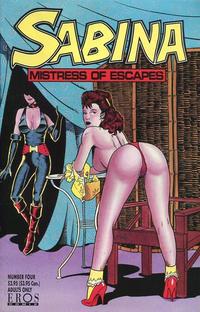 Cover Thumbnail for Sabina (Fantagraphics, 1993 series) #4
