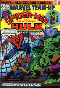 Cover Thumbnail for Marvel Team-Up (Marvel, 1972 series) #27 [British]