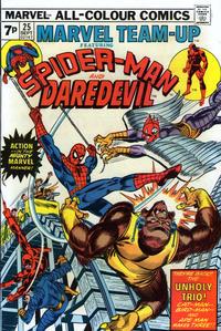 Cover Thumbnail for Marvel Team-Up (Marvel, 1972 series) #25 [British]