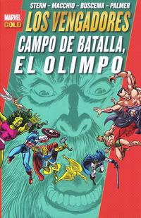 Cover Thumbnail for Marvel Gold: Los Poderosos Vengadores (Panini España, 2011 series) #10 - Campo de Batalla, El Olimpo