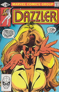 Cover Thumbnail for Dazzler (Marvel, 1981 series) #8 [Direct]