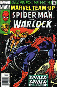 Cover Thumbnail for Marvel Team-Up (Marvel, 1972 series) #55 [British]