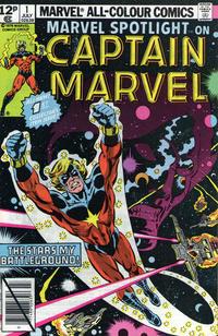 Cover Thumbnail for Marvel Spotlight (Marvel, 1979 series) #1 [British price variant]