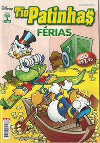 Cover Thumbnail for Tio Patinhas Férias (Editora Abril, 2008 series) #7