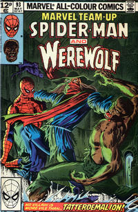 Cover Thumbnail for Marvel Team-Up (Marvel, 1972 series) #93 [British]