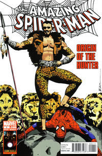 Cover Thumbnail for Spider-Man: Origin of the Hunter (Marvel, 2010 series) #1