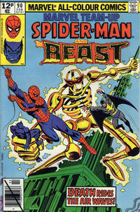 Cover for Marvel Team-Up (Marvel, 1972 series) #90 [Direct Edition]