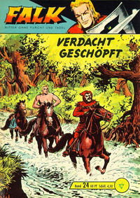 Cover Thumbnail for Falk, Ritter ohne Furcht und Tadel (Lehning, 1963 series) #24