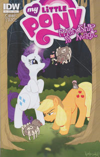 Cover Thumbnail for My Little Pony: Friendship Is Magic (IDW, 2012 series) #2 [Cover A - Katie Cook]