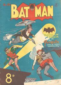 Cover Thumbnail for Batman (K. G. Murray, 1950 series) #20