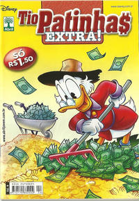 Cover Thumbnail for Tio Patinhas Extra (Editora Abril, 2008 series) #4