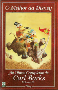 Cover Thumbnail for O Melhor da Disney: As Obras Completas de Carl Barks (Editora Abril, 2004 series) #23
