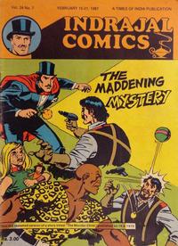 Cover Thumbnail for Indrajal Comics (Bennet, Coleman & Co., 1964 series) #v24#7 [659]