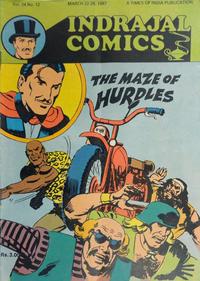 Cover Thumbnail for Indrajal Comics (Bennet, Coleman & Co., 1964 series) #v24#12 [664]