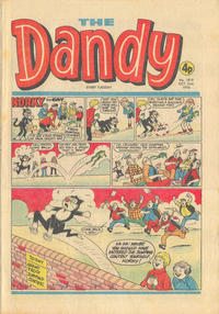 Cover Thumbnail for The Dandy (D.C. Thomson, 1950 series) #1819