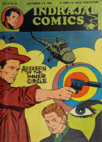 Cover Thumbnail for Indrajal Comics (Bennet, Coleman & Co., 1964 series) #v21#36 [531]