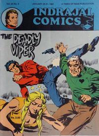 Cover Thumbnail for Indrajal Comics (Bennet, Coleman & Co., 1964 series) #v24#4 [656]