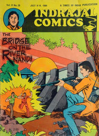 Cover Thumbnail for Indrajal Comics (Bennet, Coleman & Co., 1964 series) #v21#28 [523]